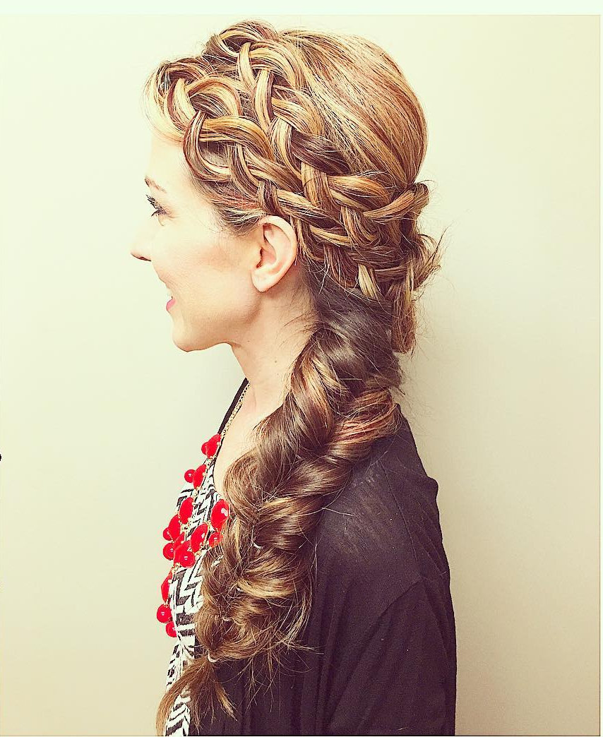 Double Dutch Mermaid Braid
