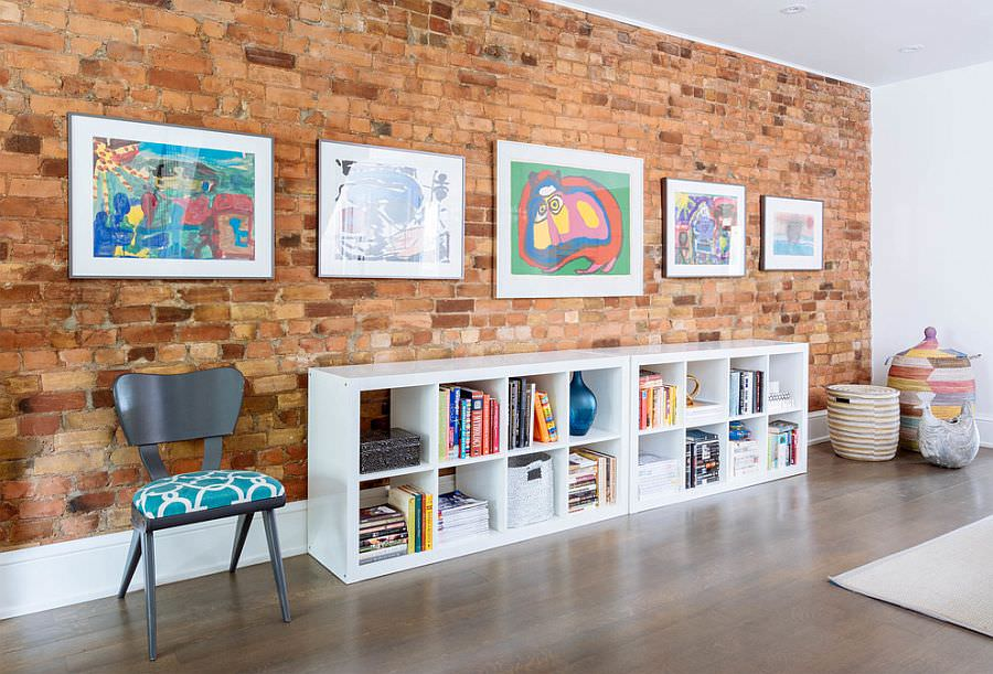 25 brick wall designs decor ideas design trends for Brick wall living room ideas