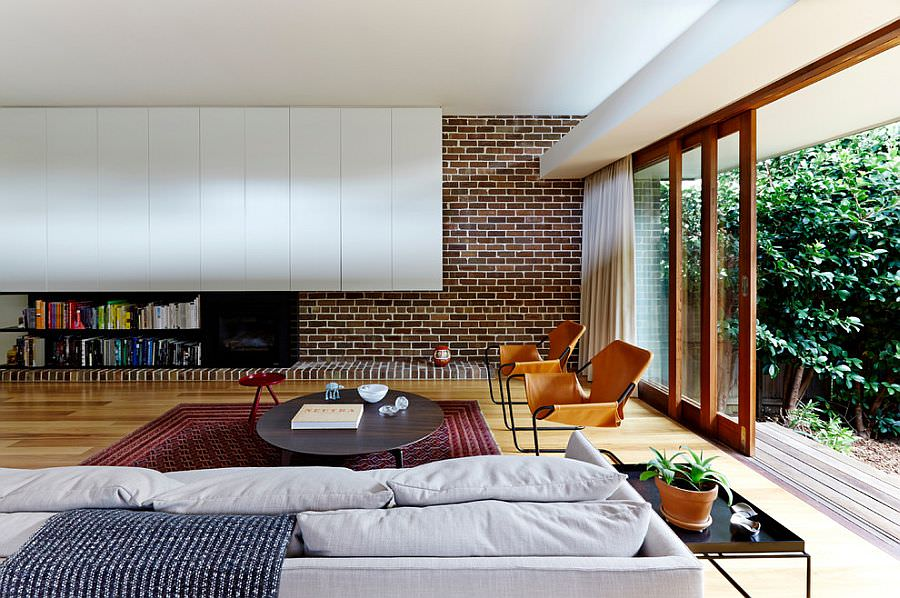 modern brick wall design