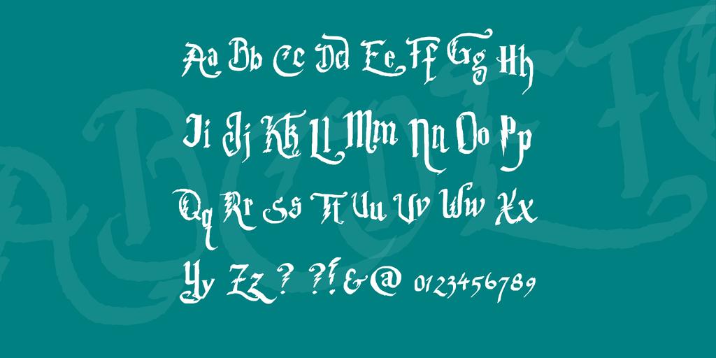 Harry Potter Movie Font