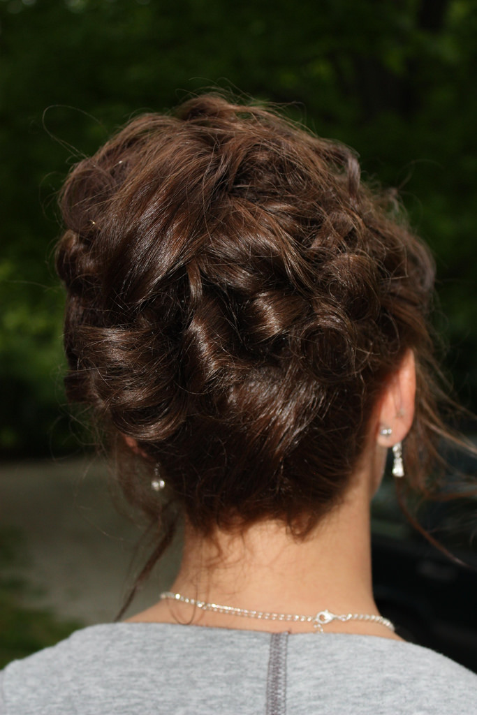 prom hairstyles updo