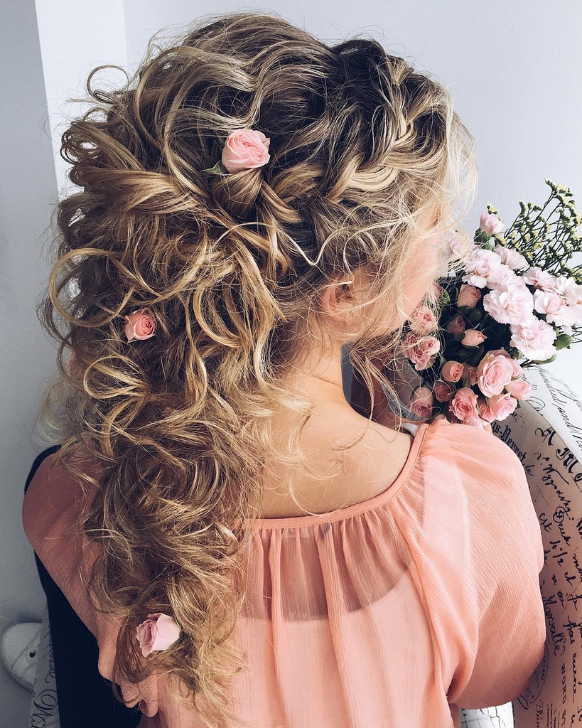 Hairstyles For Prom With Flowers : Delightful prom hairstyles ideas haircuts design