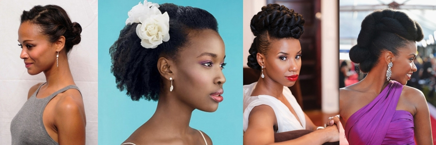 Fresh And Elegant Natural Prom Hairstyles