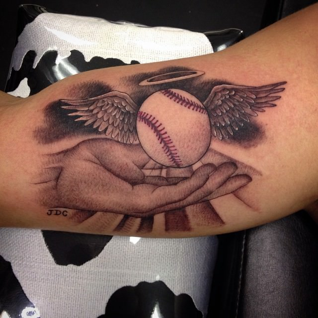 Fantastic Baseball Tattoo