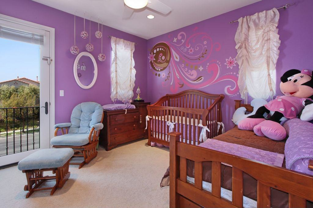 Kids Purple Bedroom Ideas