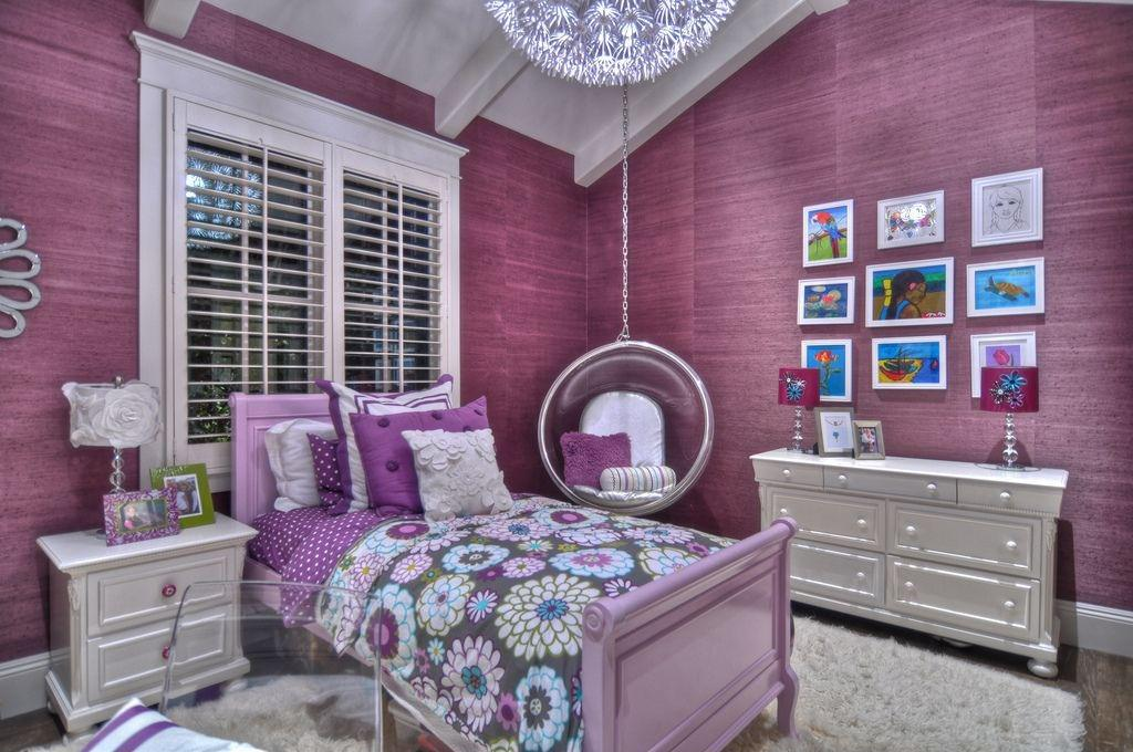 Childrens Purple Bedroom Ideas