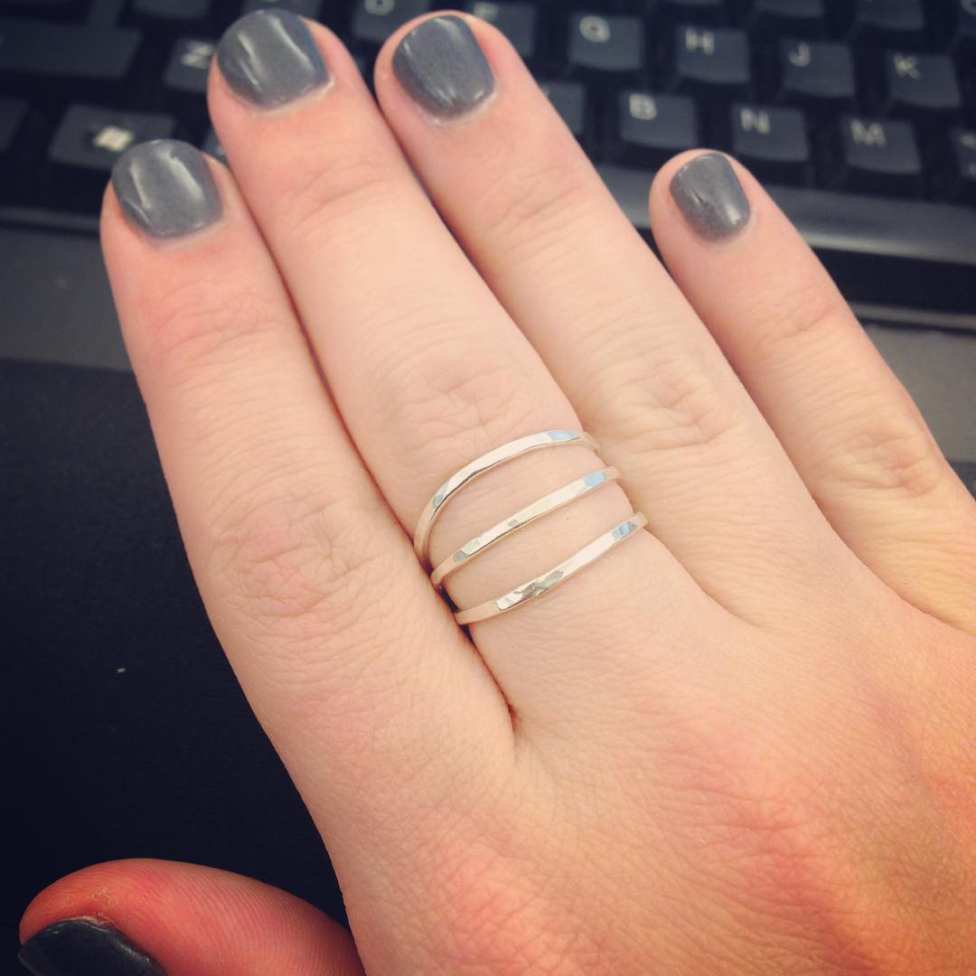 Simple & Stylish Silver Ring
