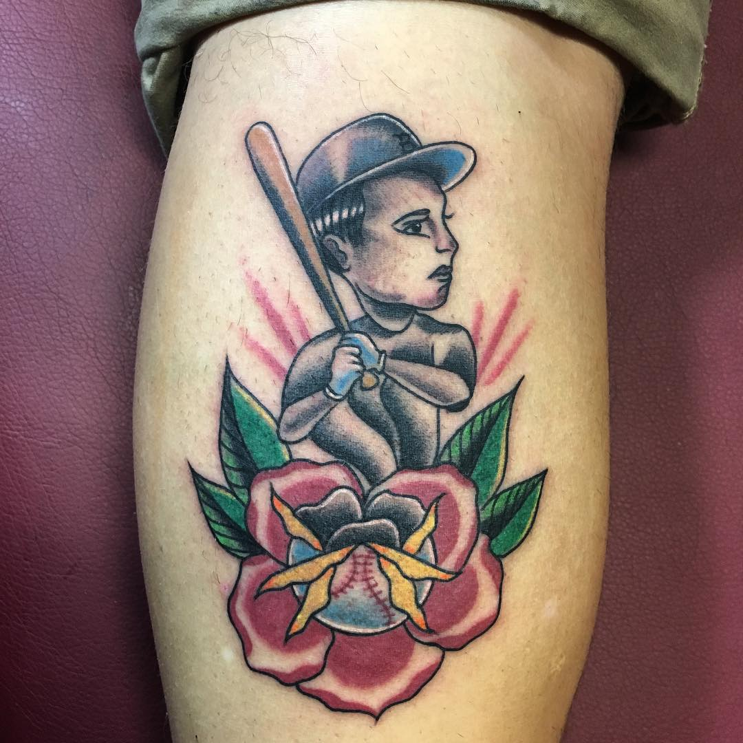 Awesome Baseball Tattoo