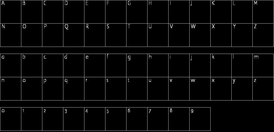 Black Knight Letter Font