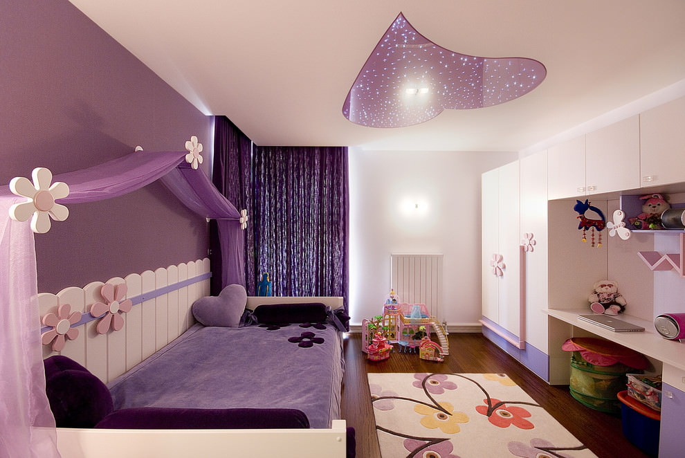 Stunning Purple Kids Bedroom Ideas
