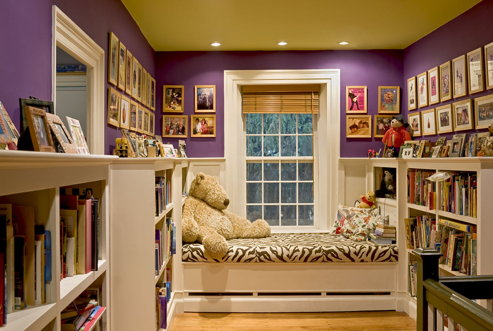 Purple Children Bedroom Room