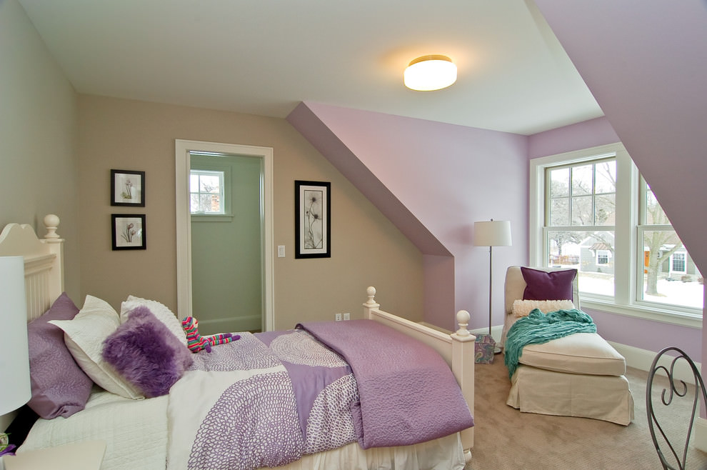 Cool Purple Childrens Bedroom Designs