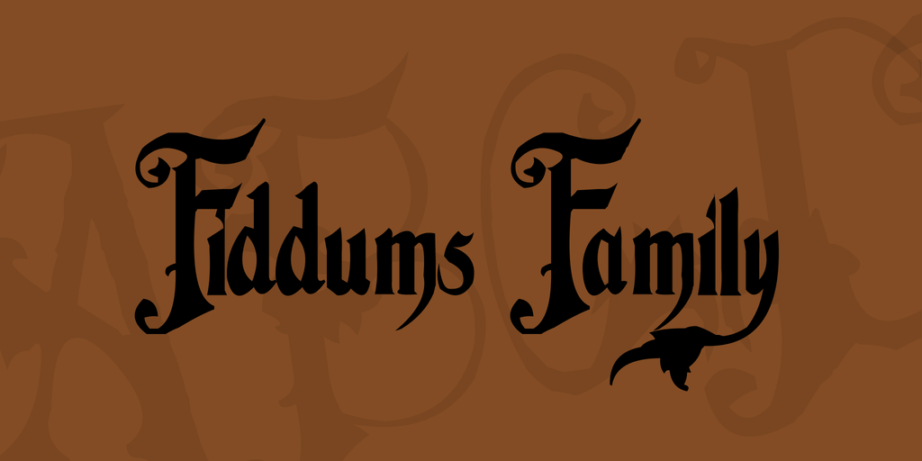 Horror Style Blackletter Font