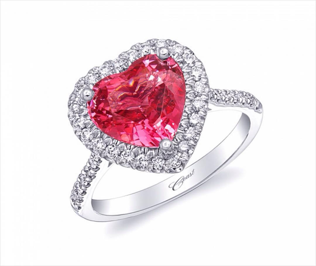 Heart Shaped Pink Diamond.
