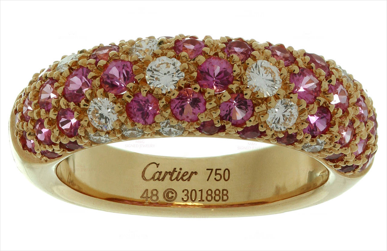 Cartier Pink Diamond Band