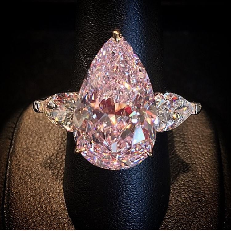 Fantastic Pear Shaped Diamond