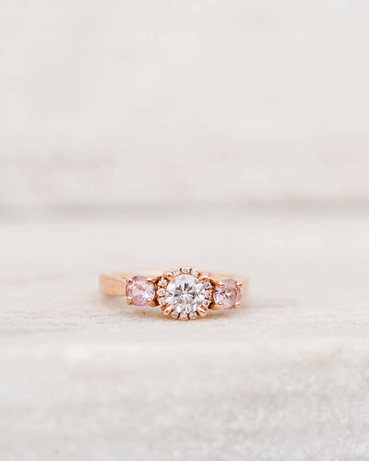 Rose Diamond Ring.