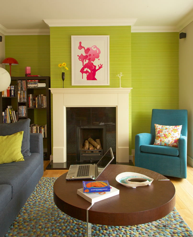 Lime Green Living Room Lime Green Accent Wall Living Room Yes Yes Go