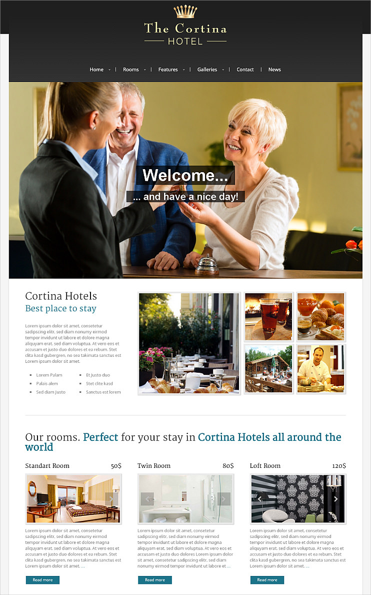 Fabulous Hotel WP Theme