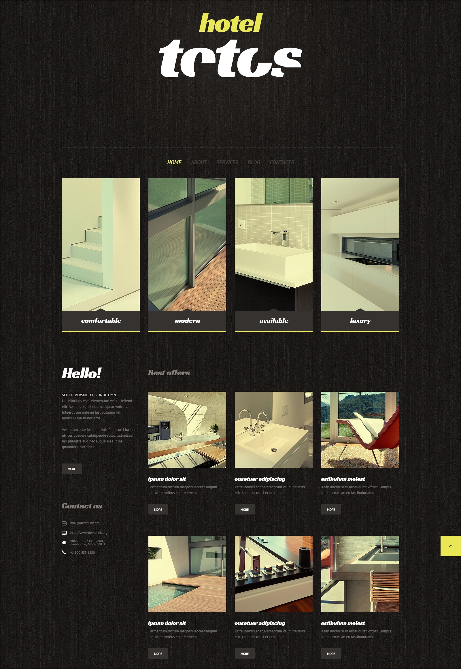 Hotel Business Theme