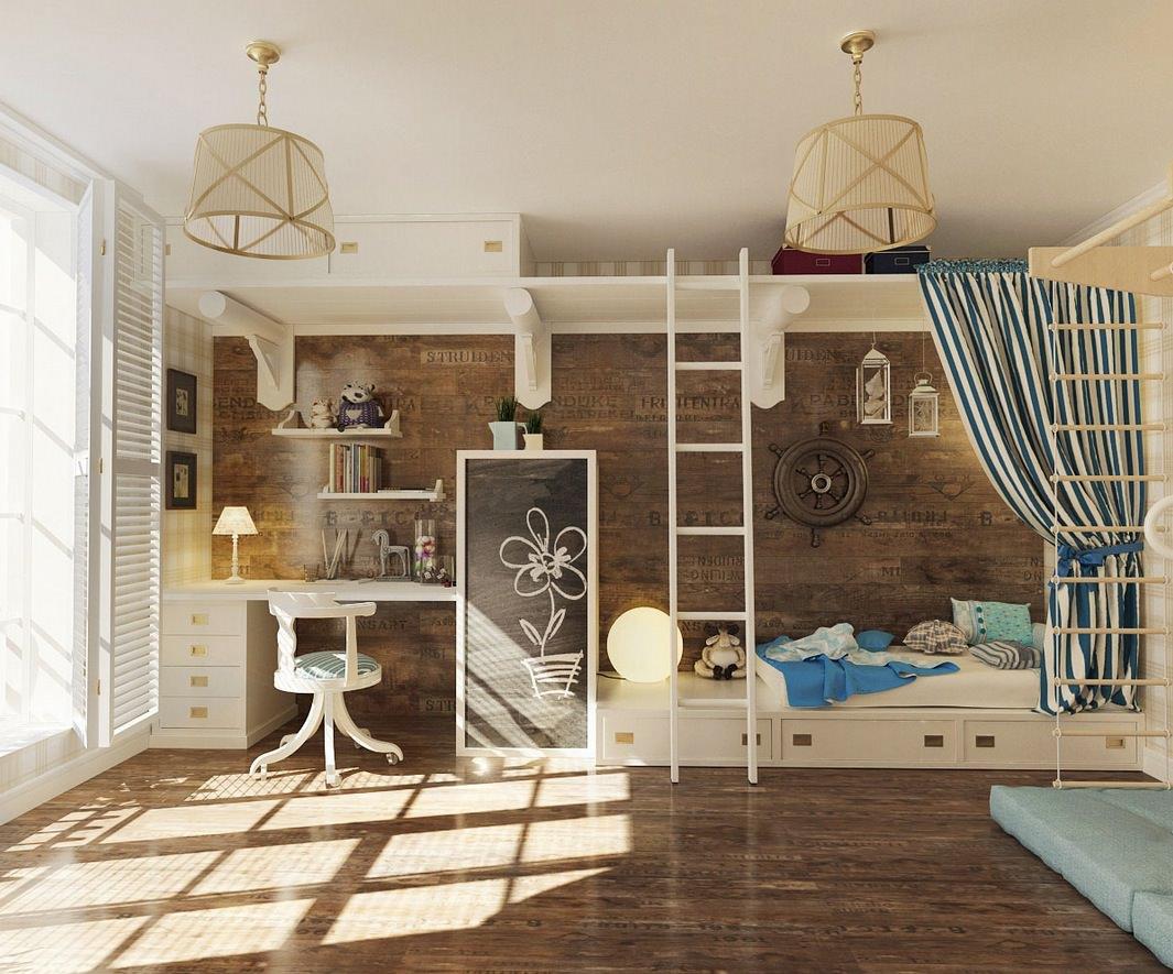 kids room storage hanging shelves