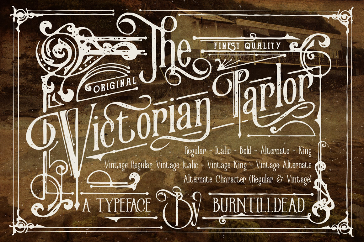 Mono Line Hipster Font