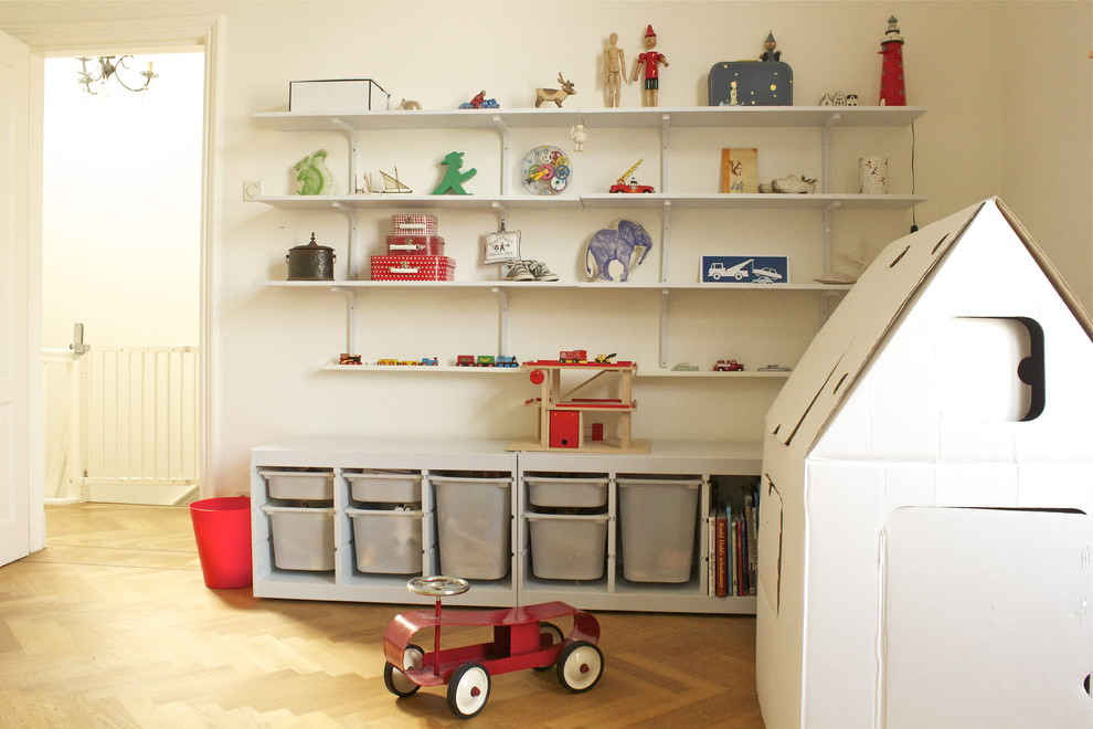 Kids Toy Storage Shelves Idea