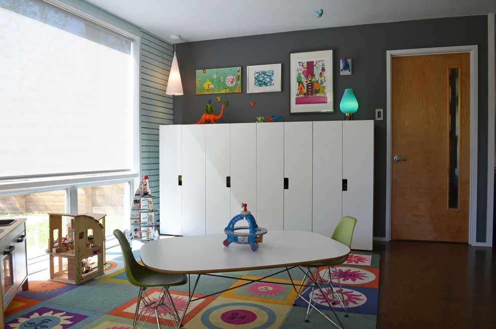 modish kids storage units
