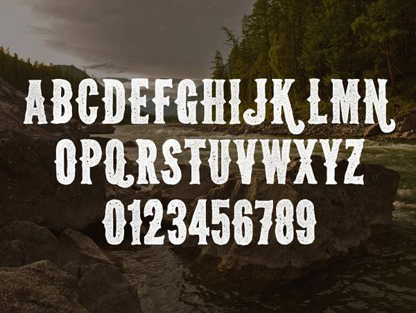 Wild Font Style