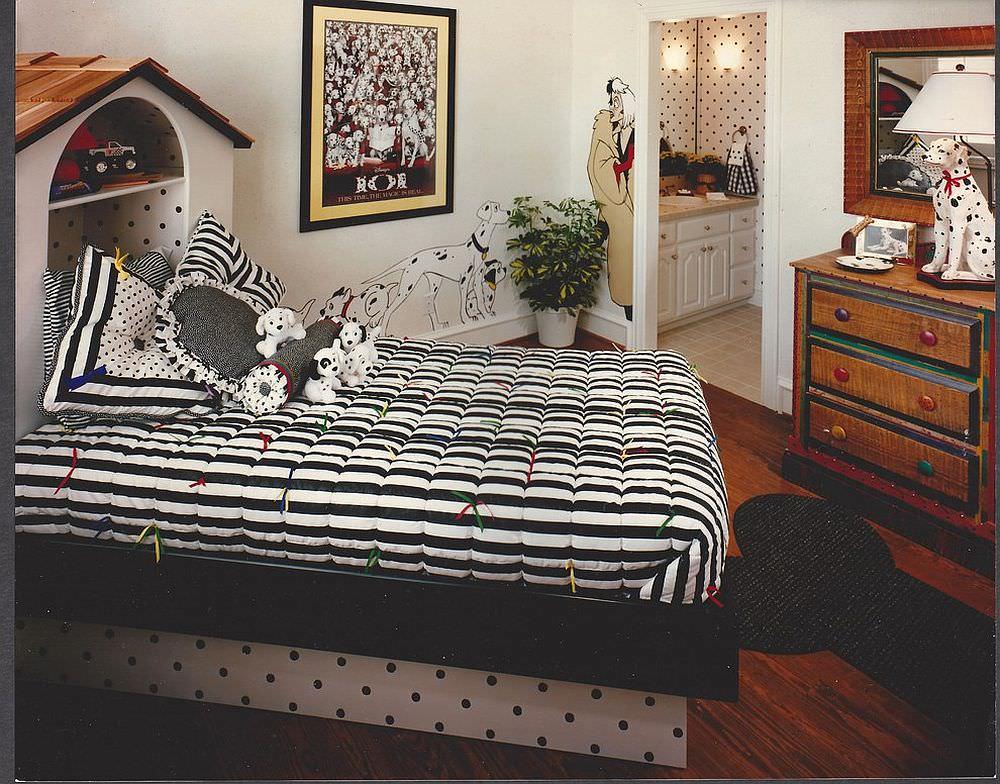 Dalmatians Themed Bedroom Design
