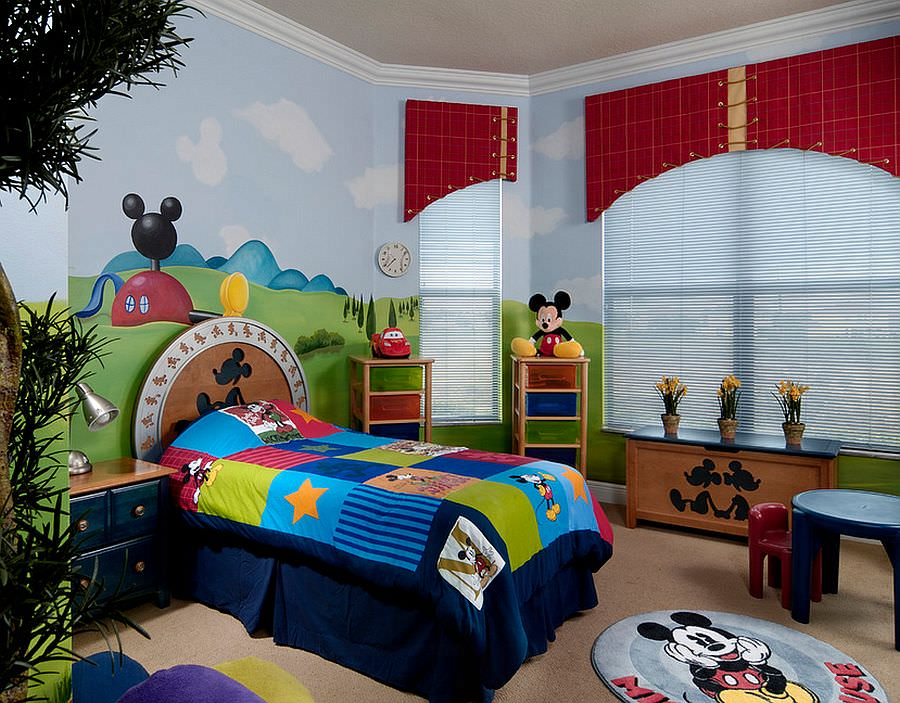 mickey mouse bedroom decor 24 disney themed bedroom designs decorating ideas 16183