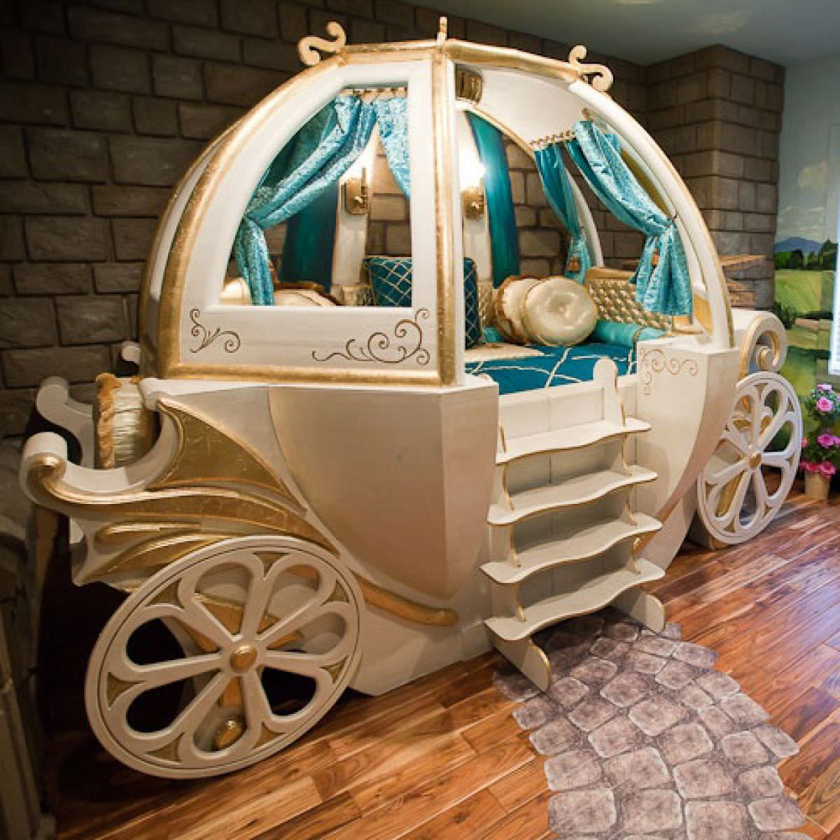 Fancy Disney Themed Kiods Bed