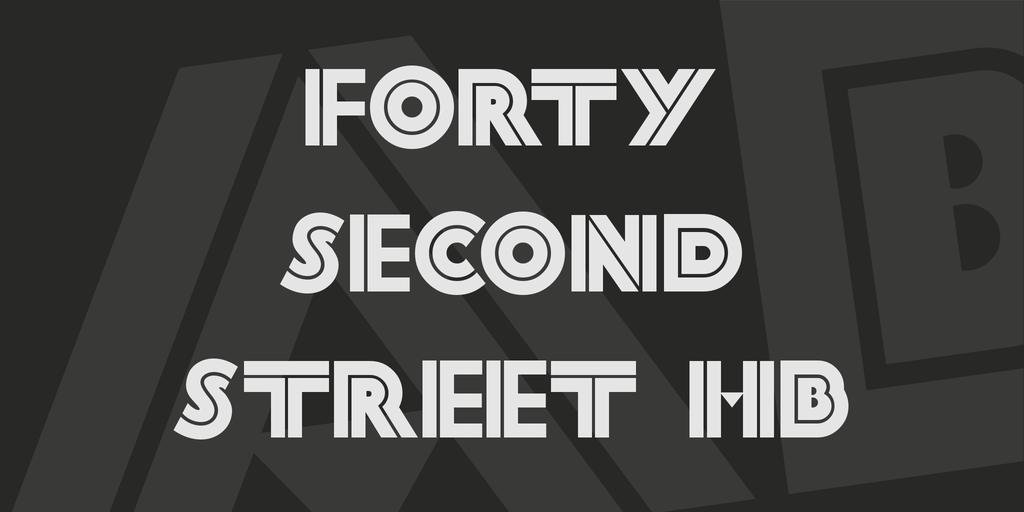 bi linear font type