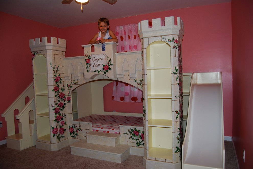24 disney themed bedroom designs decorating ideas for Children bedroom designs girls