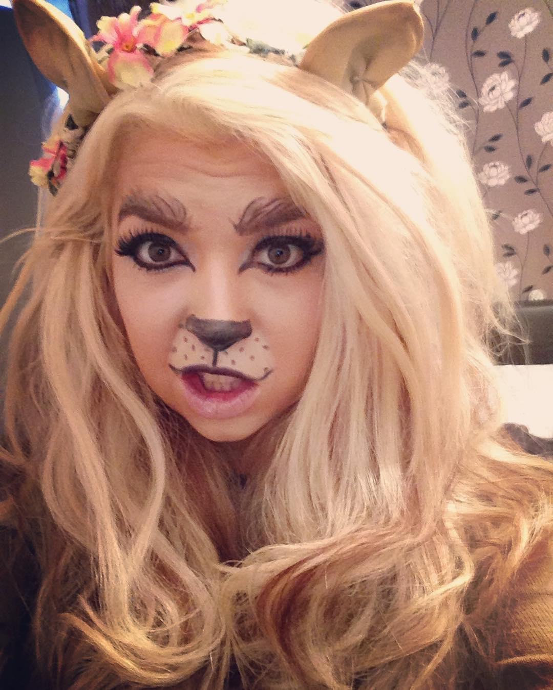 Lion Makeup for Kid