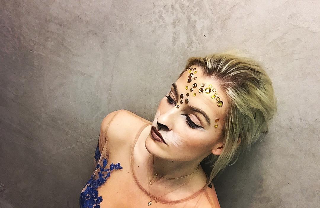 Trendy Look Lion Makeup