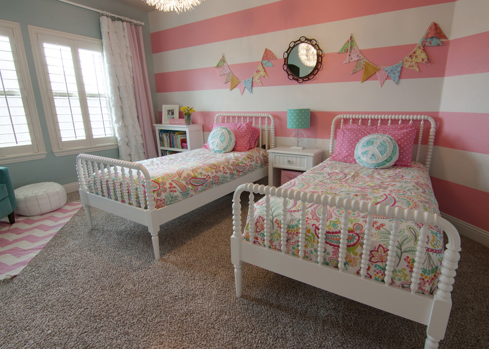 Girls Bedroom Paint Ideas Stripes 23+ child room designs, decorating ideas with striped walls