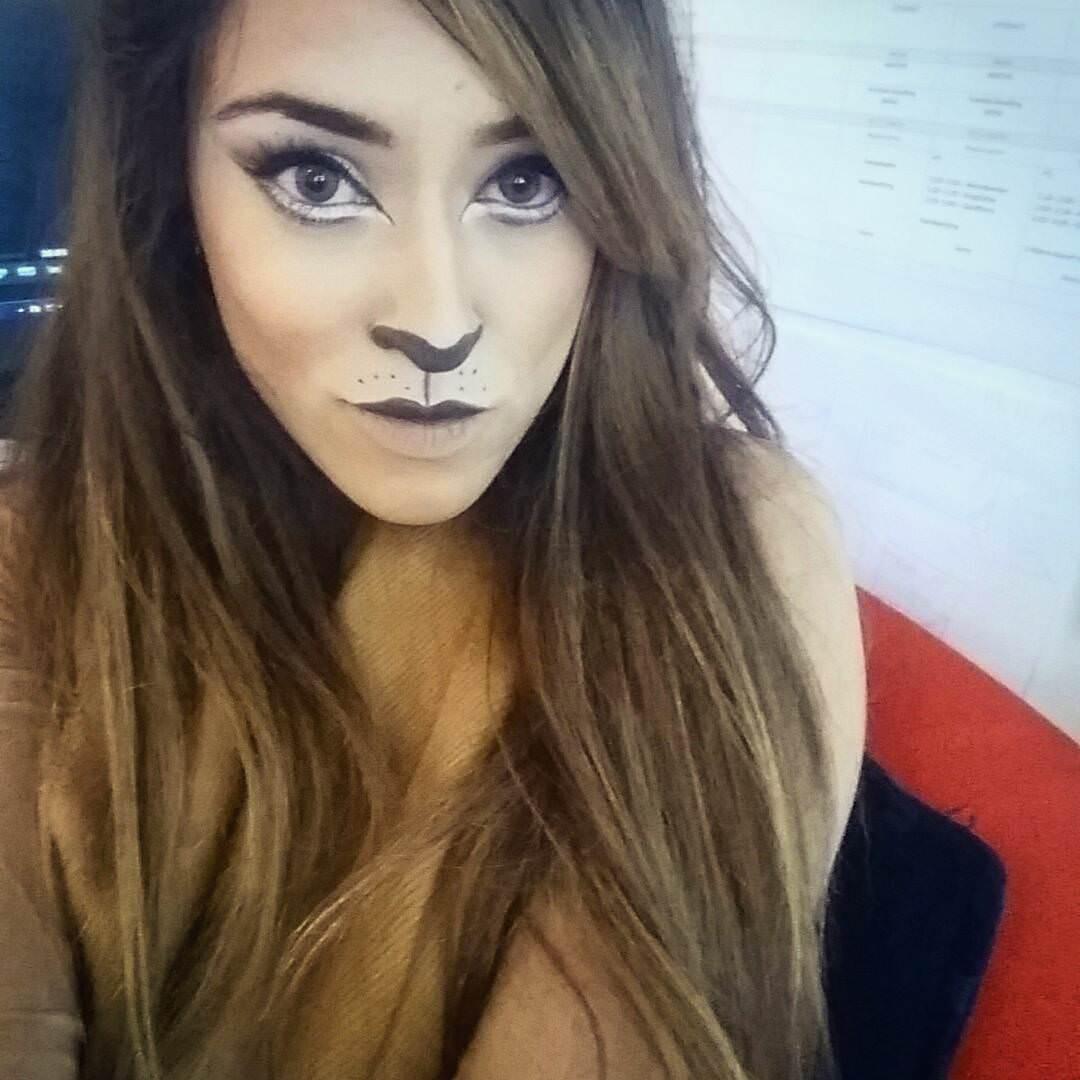 Fashion Lion Makeup