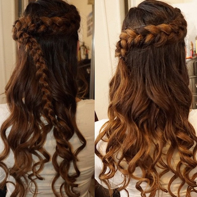 100+ Delightful Prom Hairstyles, Ideas, Haircuts | Design