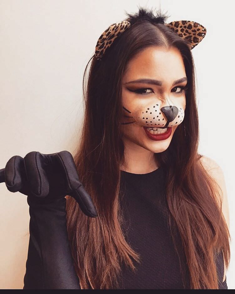 fierceful cat makeup
