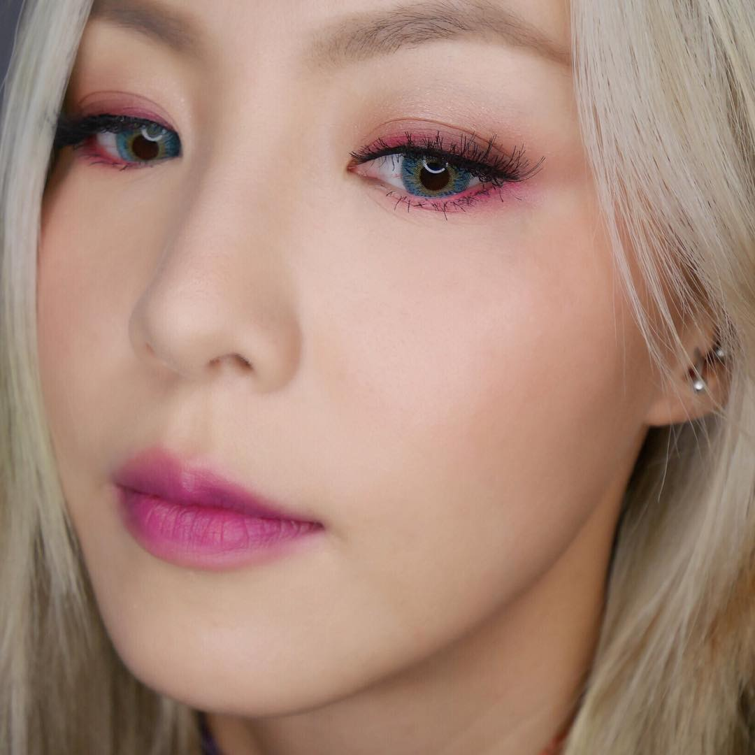Pink Makeup for Brown Eyes