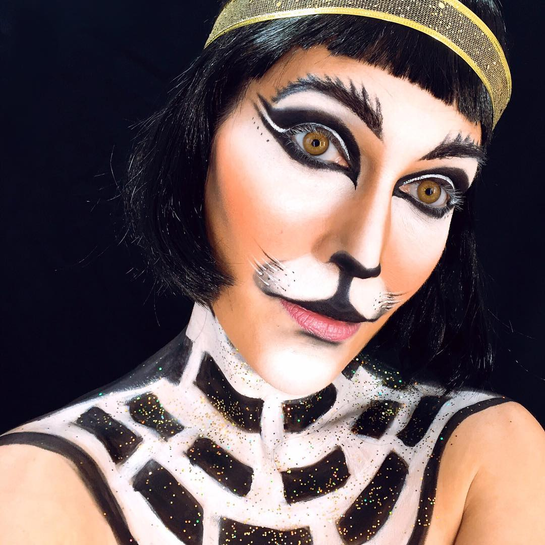 Egyptian Cat Makeup