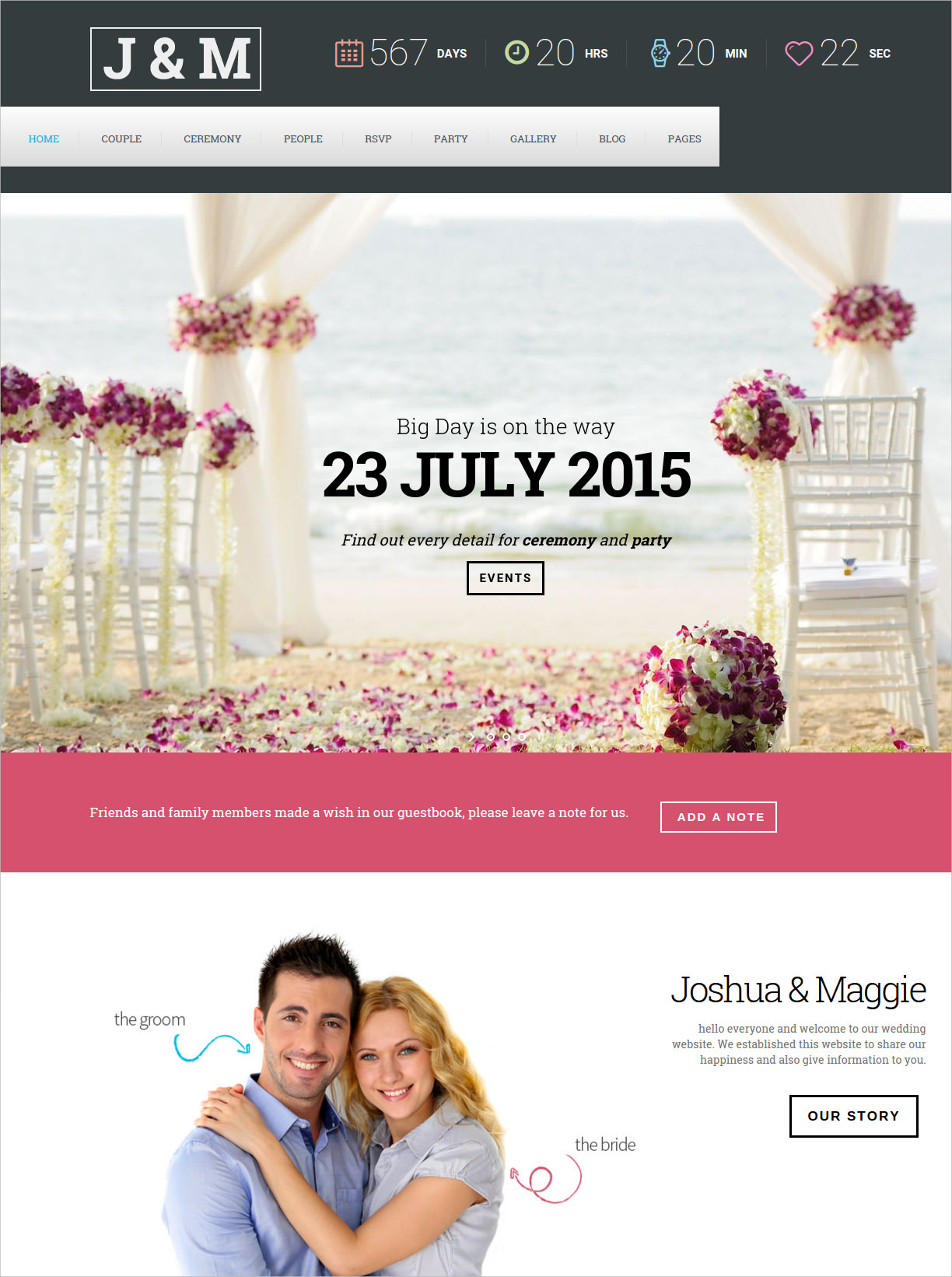 Celebration Wedding Beauitful Theme