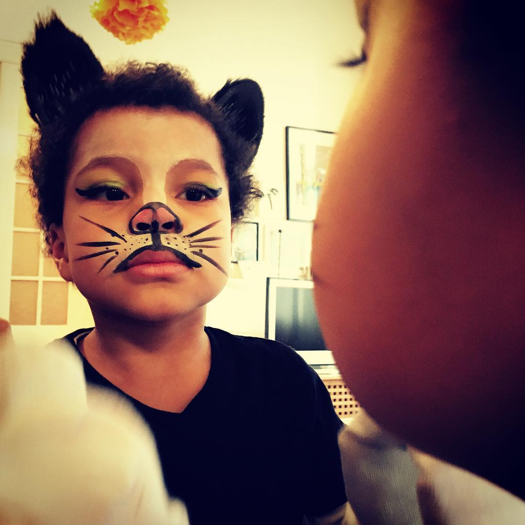 Cat Makeup for Children