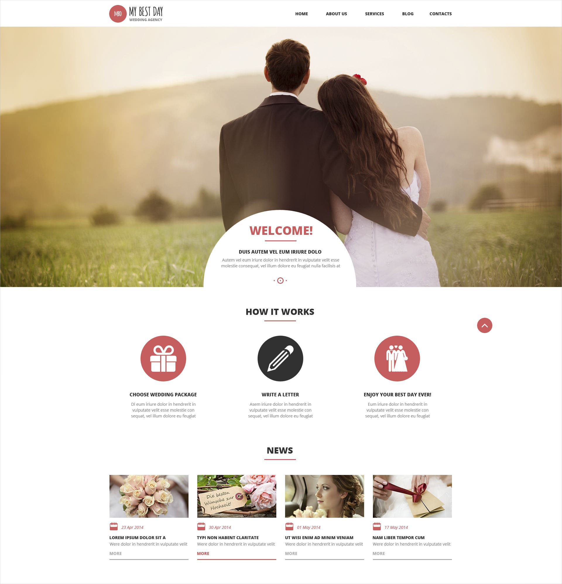 wedding planning wp theme