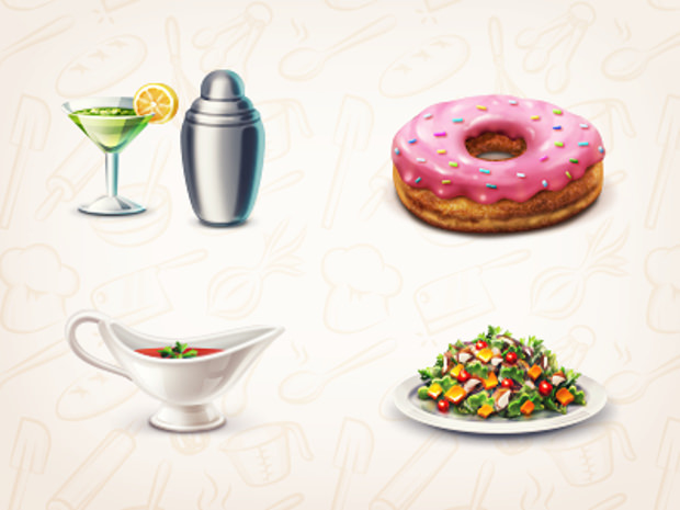 Cookbook Tasty Icons