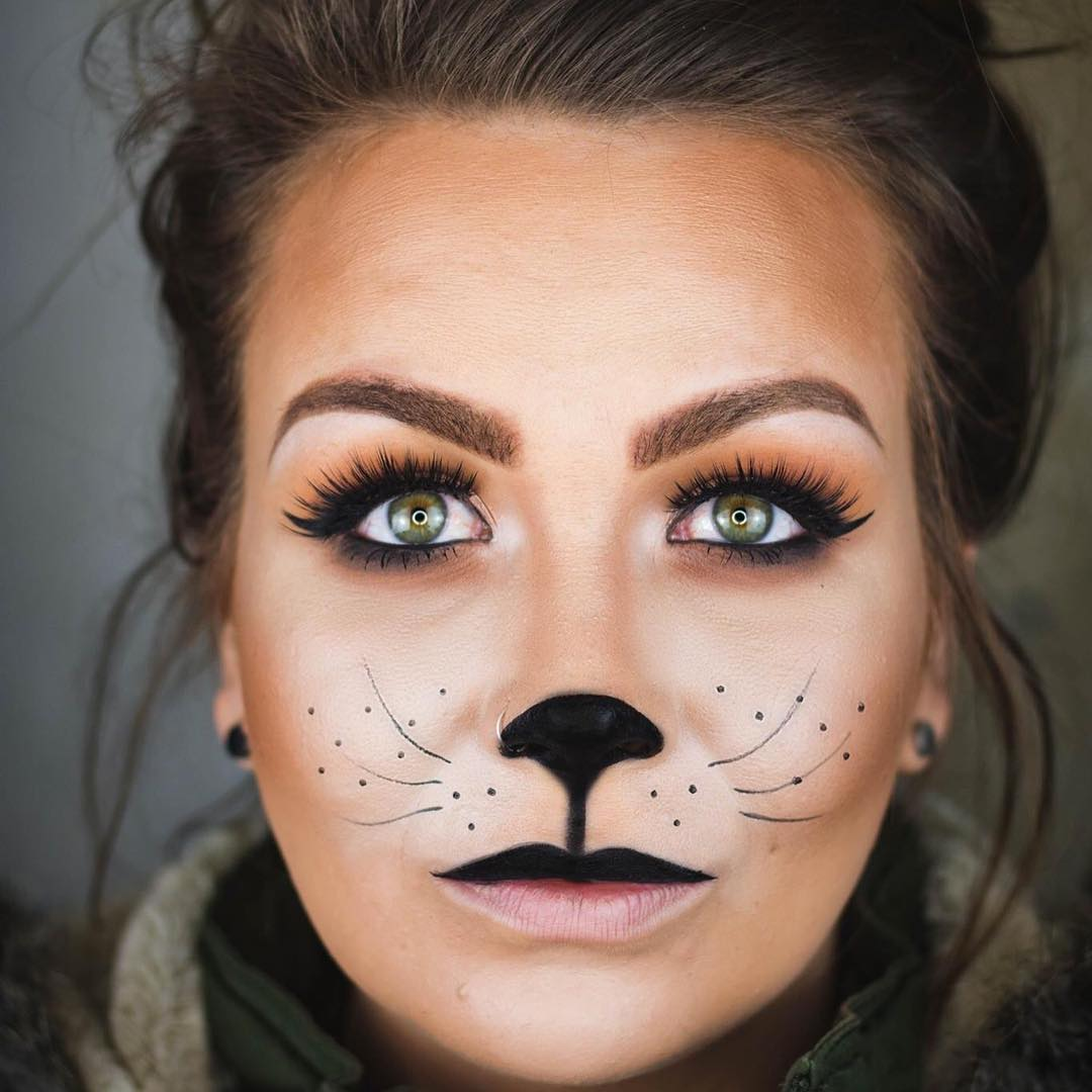 22 cat makeup designs trends ideas design trends premium psd vector downloads - Maquillage chat femme ...