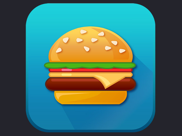 Fantastic Cheese Burger Icon