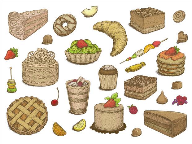 tasty desserts icon