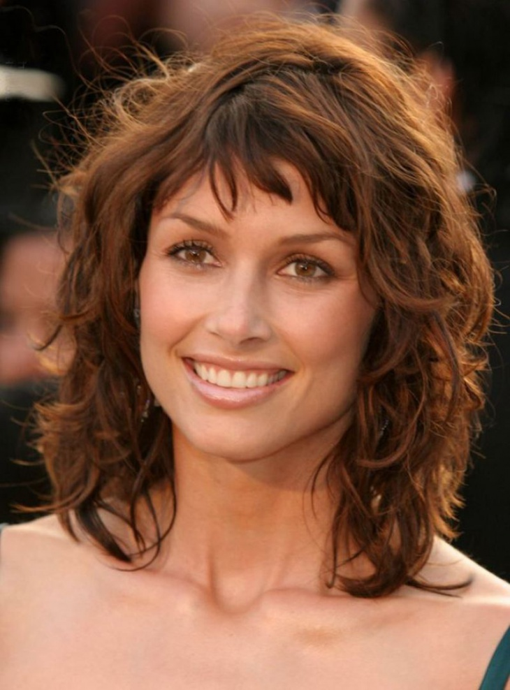 curly stacked medium length hairstyles short hairstyle 2013